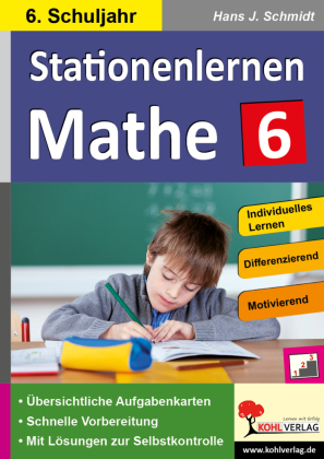 Stationenlernen Mathe / Klasse 6