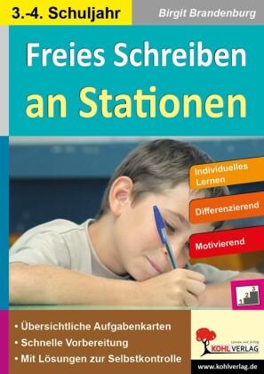 Freies Schreiben an Stationen