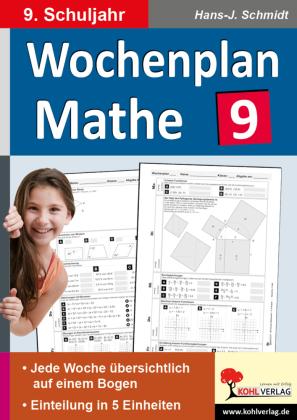 Wochenplan Mathe / Klasse 9