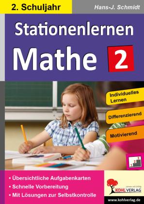 Stationenlernen Mathe / Klasse 2