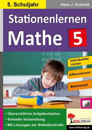 Stationenlernen Mathe / Klasse 5