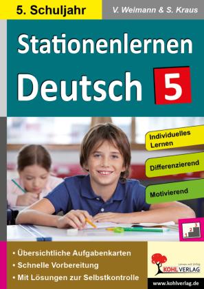 Stationenlernen Deutsch / Klasse 5