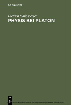 Physis bei Platon