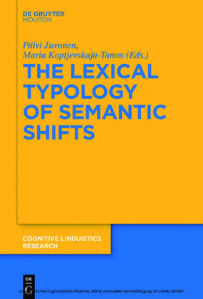 The Lexical Typology of Semantic Shifts