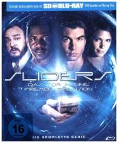 Sliders - Die Komplette Serie, 4 Blu-rays (SD on Blu-ray)