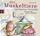 Die Muskeltiere und Madame Roquefort, 4 Audio-CDs