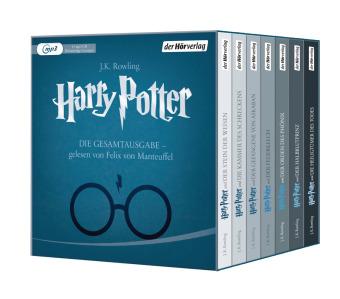 Harry Potter - Die Gesamtausgabe, 15 MP3-CDs