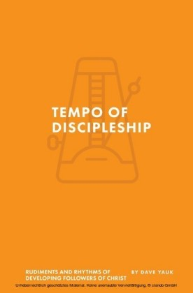 The Tempo of Discipleship