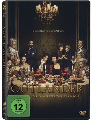 Outlander, 6 DVDs + Digital UV