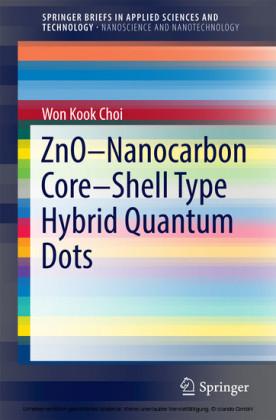 ZnO-Nanocarbon Core-Shell Type Hybrid Quantum Dots