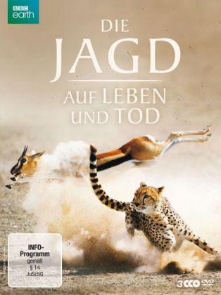 Die Jagd - Auf Leben und Tod, 3 DVDs
