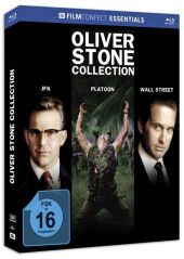 Oliver Stone Collection, 3 Blu-ray u. 3 Kinoplakate (Limited Mediabook)