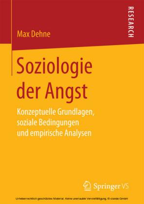 Soziologie der Angst