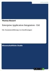 Enterprise Application Integration - EAI