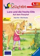 Lara und die freche Elfe - Auf dem Ponyhof Cover