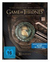 Game of Thrones, 4 Blu-rays (Steelbook) Cover
