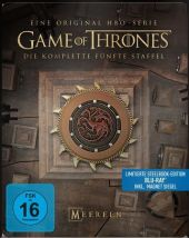 Game of Thrones, 4 Blu-rays + Digital UV (Steelbook) Cover