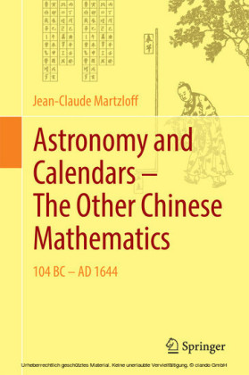 Astronomy and Calendars - The Other Chinese Mathematics