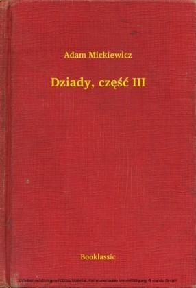 Dziady, cz sc III
