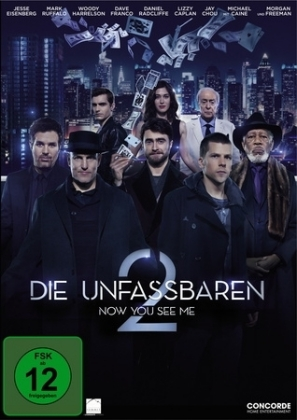 Die Unfassbaren 2 - Now You See Me, 1 DVD