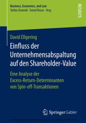 Einfluss der Unternehmensabspaltung auf den Shareholder-Value