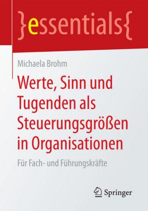 Werte, Sinn und Tugenden als Steuerungsgrößen in Organisationen