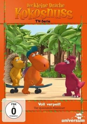 Der kleine Drache Kokosnuss TV Serie - Voll verpeilt, 1 DVD