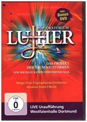 Pop-Oratorium Luther, 2 DVDs