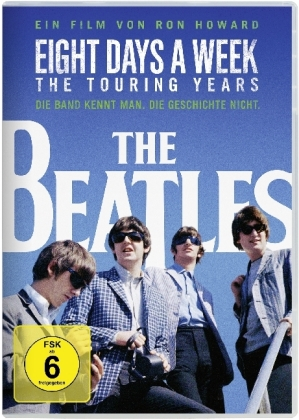 The Beatles: Eight Days a Week - The Touring Years, 1 DVD