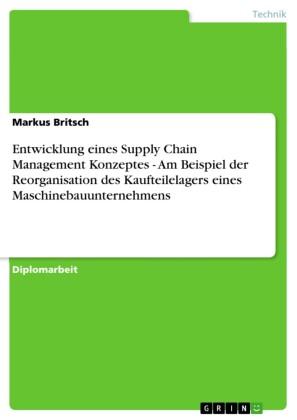 Entwicklung eines Supply Chain Management Konzeptes - Am Beispiel der Reorganisation des Kaufteilelagers eines Maschinebauunternehmens