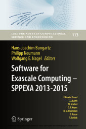 Software for Exascale Computing - SPPEXA 2013-2015