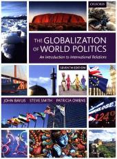 The Globalization of World Politics Cover
