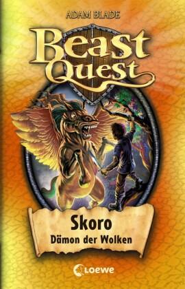 Beast Quest 14 - Skoro, Dämon der Wolken