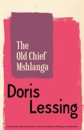 Old Chief Mshlanga