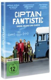 Captain Fantastic, 1 DVD Cover