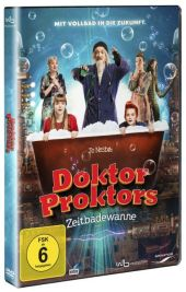 Doktor Proktors Zeitbadewanne, 1 DVD
