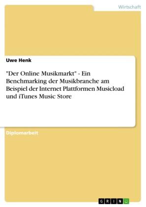 'Der Online Musikmarkt' - Ein Benchmarking der Musikbranche am Beispiel der Internet Plattformen Musicload und iTunes Music Store