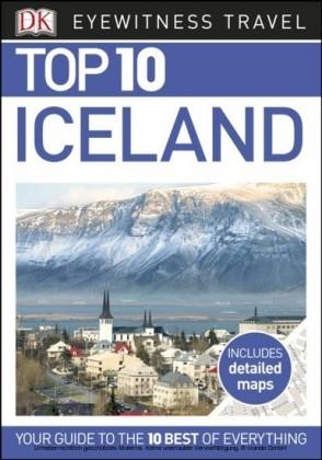 DK Eyewitness Top 10 Travel Guide: Iceland