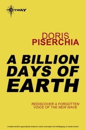 Billion Days Of Earth