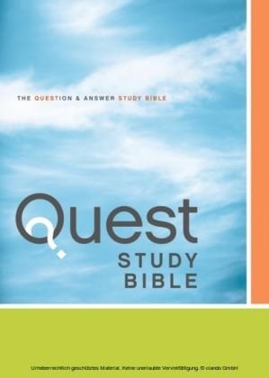 NIV, Quest Study Bible, eBook