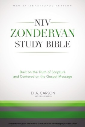 NIV Zondervan Study Bible, eBook