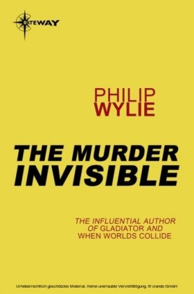 Murderer Invisible