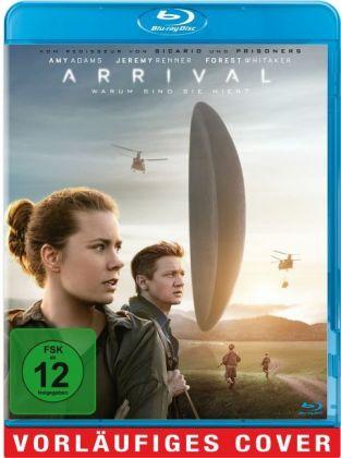 Arrival, 1 Blu-ray