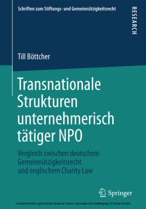 Transnationale Strukturen unternehmerisch tätiger NPO