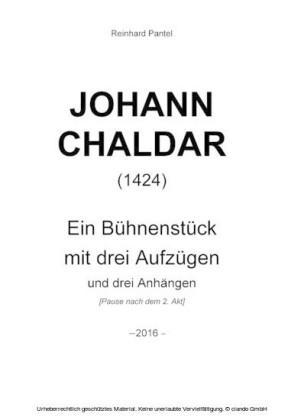 JOHANN CHALDAR (1424)