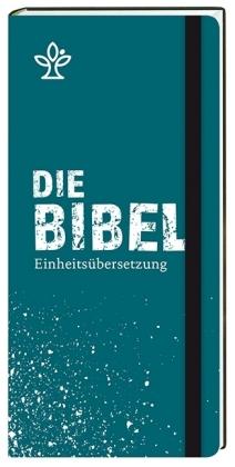 Die Bibel. Einheitsübersetzung, Taschenausgabe, hohes Brevierformat petrol