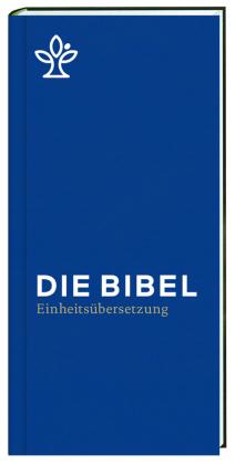 Die Bibel. Einheitsübersetzung, Taschenausgabe mit Reißverschluss - blau