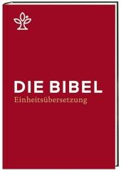 Die Bibel. Einheitsübersetzung, Standardformat weinrot Cover
