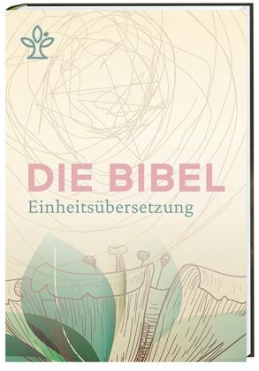 Die Bibel. Einheitsübersetzung, kompakt, Cover Blütenmotiv