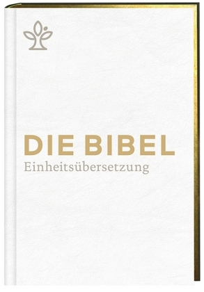 Die Bibel. Einheitsübersetzung, kompakt, Kunstleder weiß